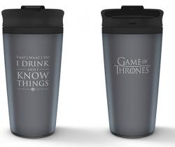 Travel Mug I Drink And I Know Things