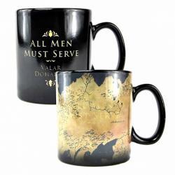Heat Changing Mug: Westeros Map