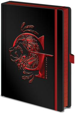 Harry Potter Premium Notebook A5 Gryffindor Foil