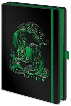 Harry Potter Premium Notebook A5 Slytherin Foil