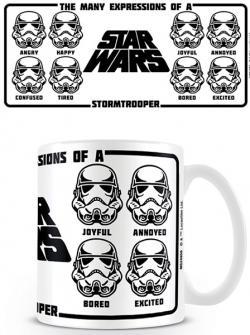 Expressions of a Stormtrooper Mug