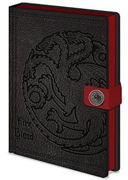 Premium Notebook A5 Targaryen