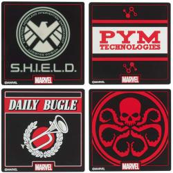 Marvel Silicon Coaster Set 1