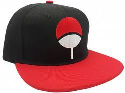Naruto Shippuden Snapback Cap Black & Red Uchiha