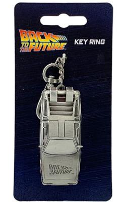 Back to the Future Delorian Key Ring
