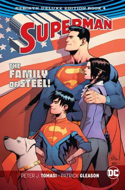 Superman Rebirth Deluxe Collection Book 4