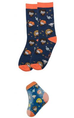 Harry Potter Magic Socks Starry Night Kawaii