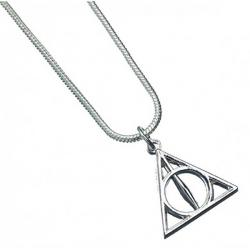 Harry Potter Pendant & Necklace Deathly Hallows (silver plated)