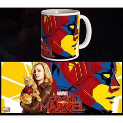 Captain Marvel Mug Carol & Goose