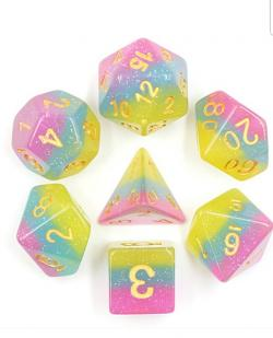 Candy Land (set of 7 dice)