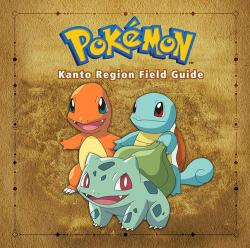 Pokemon Kanto Region Field Guide