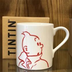Mugg - porträtt Tintin