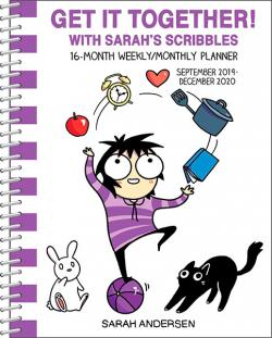 Get it Together! Sarah's Scribbles Weekly/Monthly Planner 2020