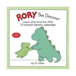 Rory The Dinosaur 2020 Family Wall Calendar