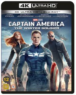 Captain America 2: The Winter Soldier (4K Ultra HD+Blu-ray)
