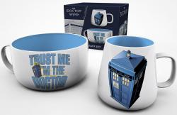 Breakfast Set Tardis