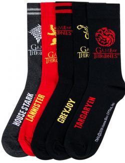 Houses Socks 5-Pack