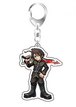 Dissidia Final Fantasy Acrylic Key Chain Squall Vol. 2