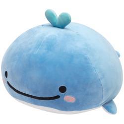 JinbeSan Little Whale Plush: Large Super Soft