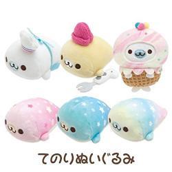 Mamegoma Seal Plush Mini: Mamegoma Cafe