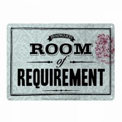 Harry Potter Small Tin Sign - Hogwarts Room of Requirement