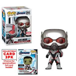 Avengers Endgame Ant-Man Pop! Vinyl Figure with Collector Cards