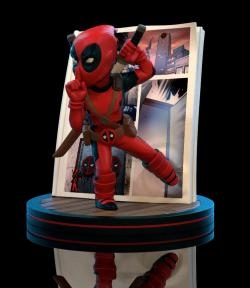 Deadpool 4D Q-Fig Diorama Figure