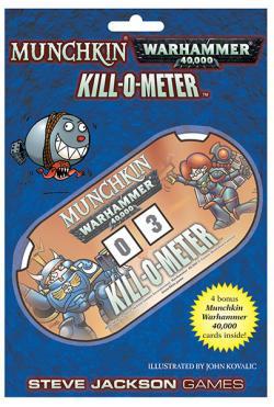 Munchkin: Warhammer 40k - Kill-o-Meter