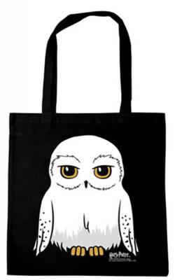 Harry Potter Hedwig Tote Bag Black