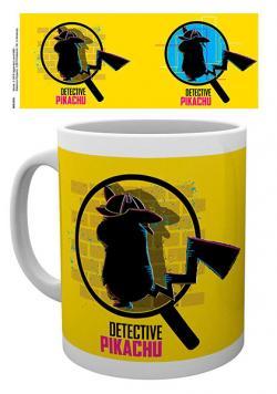 Detective Pikachu Mug Magnified