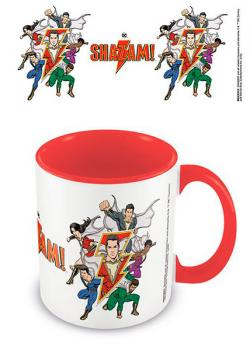 Shazam Coloured Inner Mug The Power Of Friendship