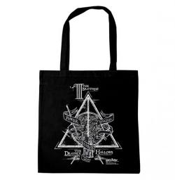 Harry Potter Tote Bag Deathly Hallows Three Brothers
