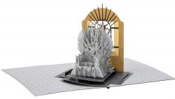 Pop-up Card Iron Throne