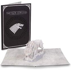 Pop-up Card Direwolf