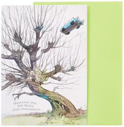 Harry Potter Pop-up Card Whomping Willow