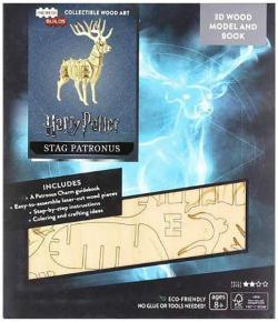 IncrediBuilds Stag Patronus Book and Model