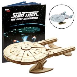IncrediBuilds Star Trek The Next Generation Book & Model