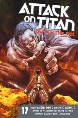 Attack on Titan Before the Fall 17