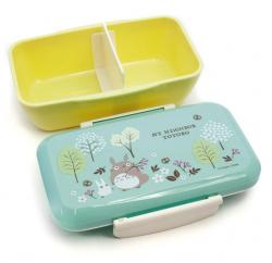 Totoro lunchbox 650ml green and blue