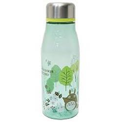Totoro water bottle 500 ml green and blue