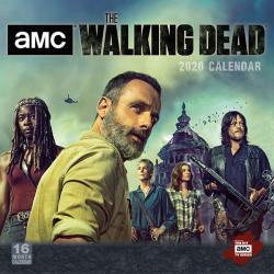 Walking Dead 2020 Wall Calendar