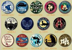Ghibli can badge assortment 2