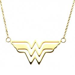 Wonder Woman Stainless Steel Pendant with Chain