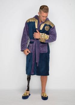 Thanos Fleece Bathrobe