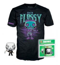 Pocket POP!  & Tee Box Skull Trooper Stay Flossy