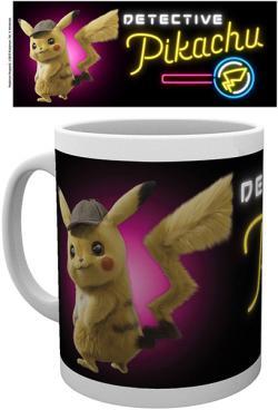 Detective Pikachu Mug Neon