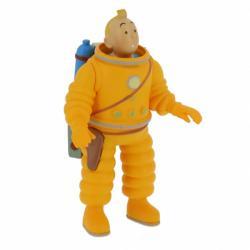 Liten figur - Tintin kosmonaut