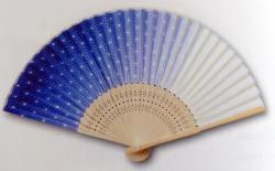 Folding Fan: Asanoha (Hemp Leaf)
