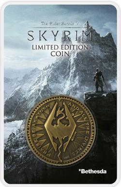 Elder Scrolls V Collectable Coin The Empire Is Law