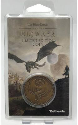 Elder Scrolls Online Collectable Coin Elsweyr